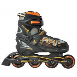 Rolki łyżworolki z wymienną płozą łyżwy Axer Vector Orange