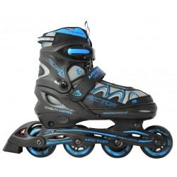 Rolki łyżworolki z wymienną płozą łyżwy Axer Vector Blue