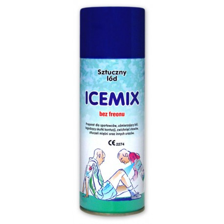 Lód sztuczny zamrażacz 400 ml sprej ICEMIX