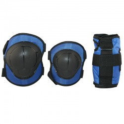 Ochraniacze na nadgarstki, łokcie i kolana zestaw Nils Extreme H110