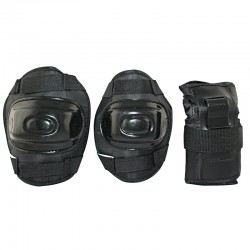 Ochraniacze na nadgarstki, łokcie i kolana zestaw Nils Extreme H108