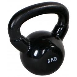 Kettlebell 8 kg żeliwna Hertz