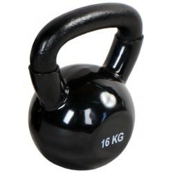 Kettlebell 16 kg żeliwna Hertz