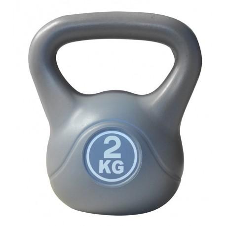 Kettlebell 2 kg Axerfit cementowe