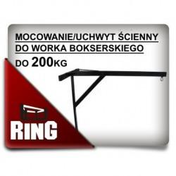 Wieszak ścienny do worka bokserskiego Ring