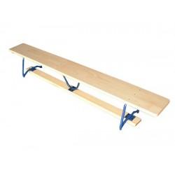 Ławka gimnastyczna nogi metalowe 2 m.