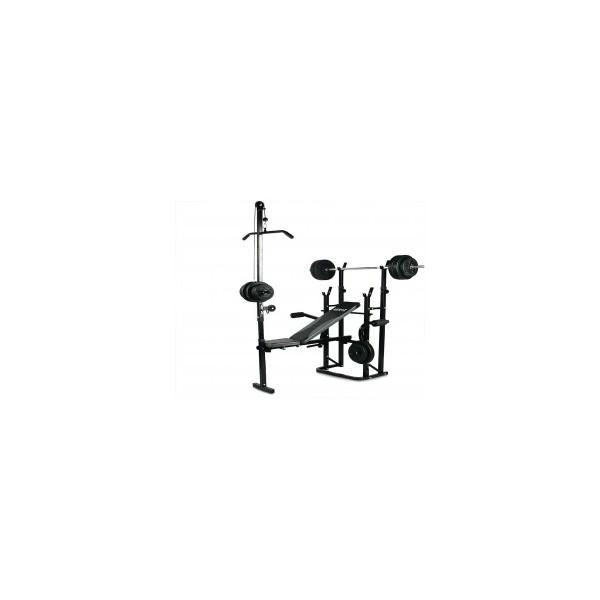 Ławka Hertz Spartan + Zestaw 80 kg