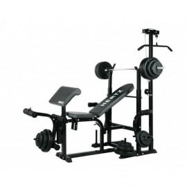 Ławka Hertz Tytan + Zestaw 100 kg