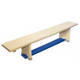 Ławka gimnastyczna drewniana 2 m