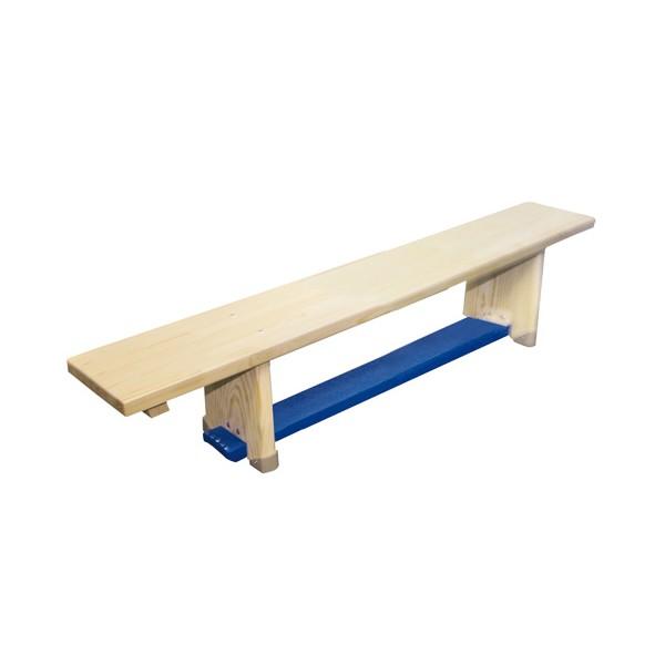 Ławka gimnastyczna drewniana 4 m