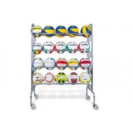 Wózek, stojak na piłki Vinex