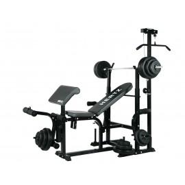 Ławka Hertz Tytan + Zestaw 100 kg OLIMPIC