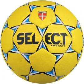 Select Piłka Grip Soft żółty