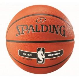 PIŁKA DO KOSZYKÓWKI NBA SILVER OUTDOOR SPALDING