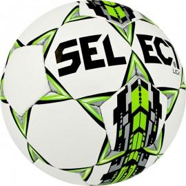 Piłka nożna Select Liga biało/zielona r.5