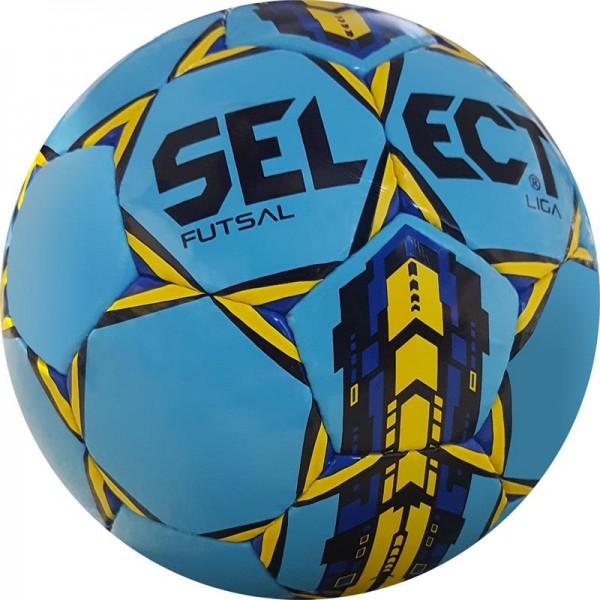 Piłka nożna halowa Select Futsal Liga niebieska