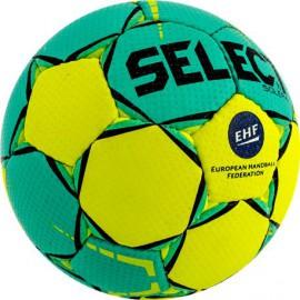 Piłka ręczna Select Solera EHF żółto/zielona r.3
