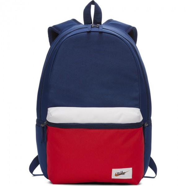 Plecak Nike Heritage granatowo-czerwony