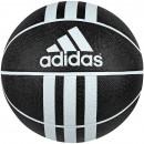 Piłka koszykowa ADIDAS 3-Stripes Rubber X czarna