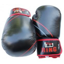 Rękawice bokserskie skórzane 10 oz Ring Profi