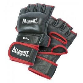 Rękawice MMA Pro PU allright czarny r. M