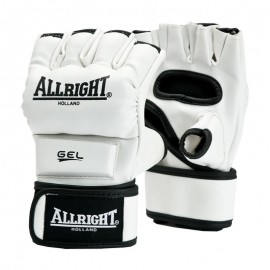 Rękawice MMA Pro PU allright biały r. L