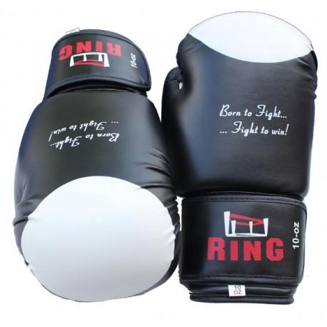 Rękawice bokserskie skórzane 6 - 14 oz Ring Champion