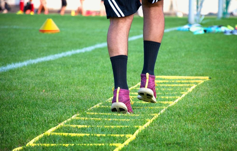 Drabinka koordynacyjna do piłki