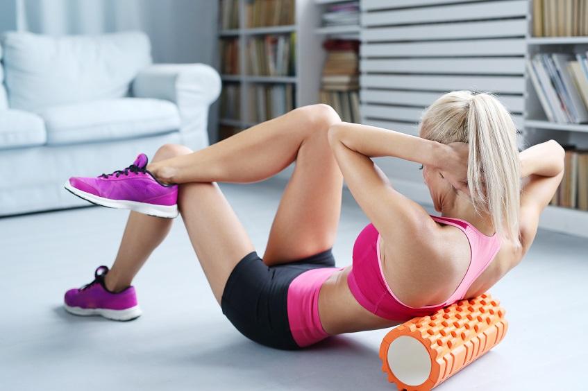 Ćwiczenia z rollerem