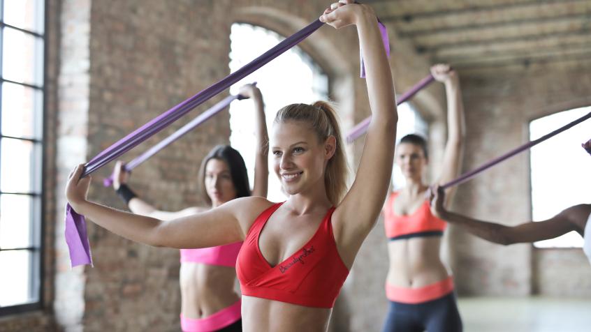Gumy do ćwiczeń fitness