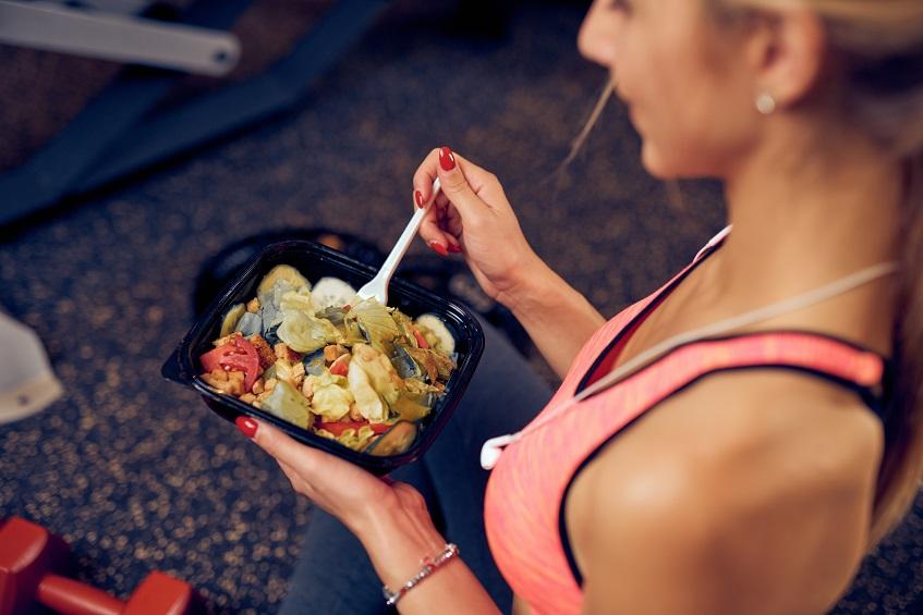 zdrowy dietetyczny obiad