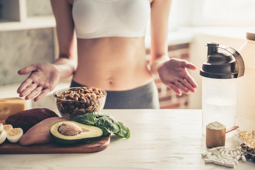 Zdrowy i sycący posiłek